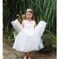 Annie ~ Flower Girl Dress.   Lilly + Bo Collection