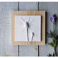 Sea Thistle No.One Plaster Cast Wall Plaque