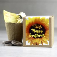 Personalised Happy Sunflowers Kit
