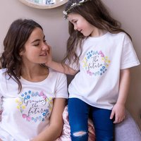 Growing The Future Mummy And Me T Shirt Set