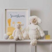 Personalised Bashful Lamb Soft Toy