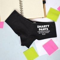 Smarty Pants Personalised Exam Result Underwear