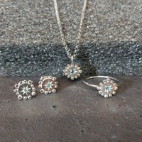 Silver Jewellery Set : Bobble And Twinkle, Silver