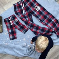 Personalised Family Tartan Pyjamas