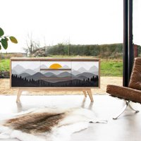 Mountains Sunrise Sideboard