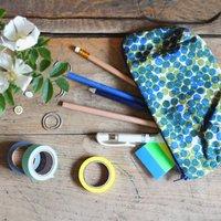 Polka Dot Pencil Bag