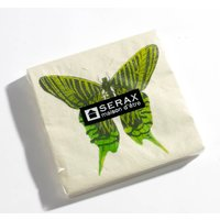 Butterfly Paper Napkins, Blue/Green