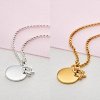 Personalised Girls Star Of David Necklace | Two Styles