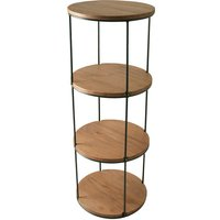Selby Circular Four Tier Shelving Unit