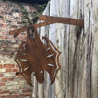 Hanging Bat Garden Ornament Feature