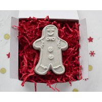 Gingerbread Man Bath Fizzy In Gift Box