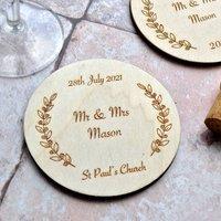 Personalised Wedding Coaster