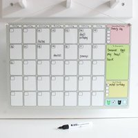 Personalised Monthly Calendar Whiteboard