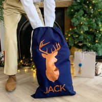 Personalised Stag Sack