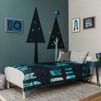 Tree Tops 100% Cotton Reversible Children's Bedding Set