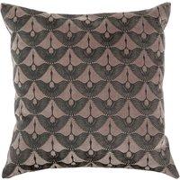 Hand Printed Japandi Crane Cushion