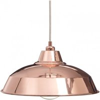 Copper Industrial Lamp Shade