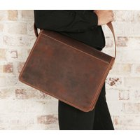 Urban Leather Messenger Bag