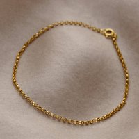 9ct Gold Belcher Bracelet, Gold