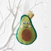 Personalised Avocado Christmas Tree Decoration