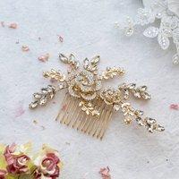 Kavina Crystal Hair Comb