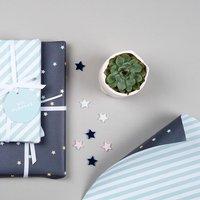 Luxury Double Sided Gift Wrap Set 'Eid Mubarak'