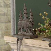 Woodland Bear Christmas Stocking Holder
