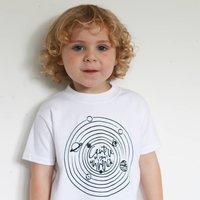 Universe Kids Space Slogan T Shirt
