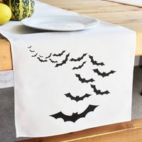 Halloween Bat Table Runner