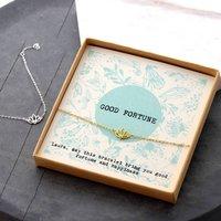 Personalised Good Fortune Bracelet