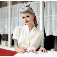 Bonnie Blouse | Authentic Vintage 1940's Style