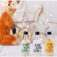 Miniature Firkin Gin Gift Set