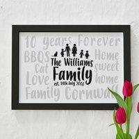 Family Words Print