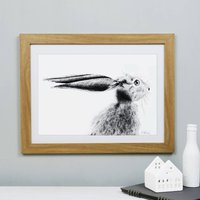 Hare Print 'The Runners Number Five'