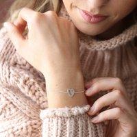 Heart Outline Bracelet