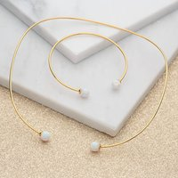 Gold And Opal Jewellery Set, Gold