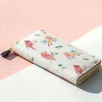 Bird Print Purse Wallet