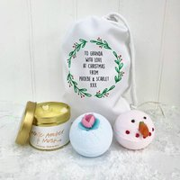 Christmas Grandma Bath And Gift Set