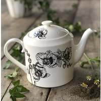 Fine Bone China Teapot