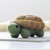 Tortoise Needle Felting Craft Kit