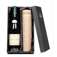 Chablis Premier Cru Wine With Newspaper Gift Set