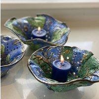 Handmade Ceramic 'Under The Sea' Candle Holder