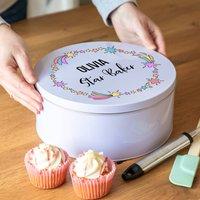 Personalised Star Baker Cake Tin