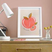 Life's Peachy A3 Risograph Print