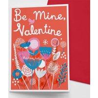 'Be Mine Valentine' Card