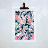 Pink Tropicana Art Print