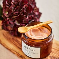 Salt And Oil Body Scrub With Sweet Orange And Bergamot