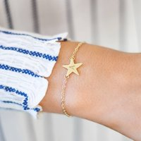 Personalised Laila Star Bracelet