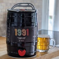 Personalised Special Year Craft Beer Keg