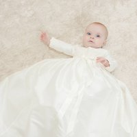 Long Sleeved Christening Gown Lara